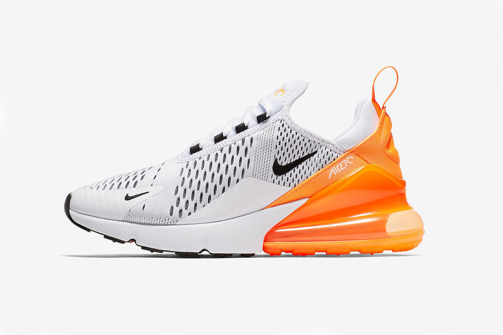 competitive price 1aef3 1e96d Nike Air Max 270 Orange Sneaker Summer Ready
