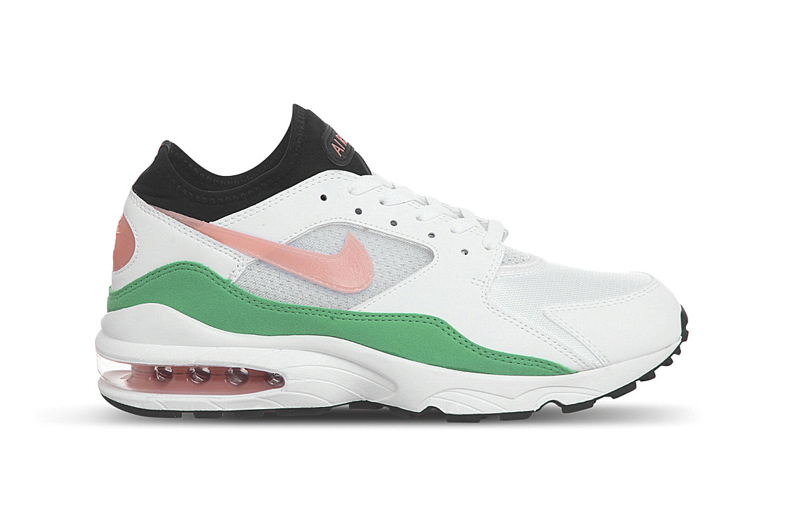 where to buy uk store first look Nike Drops Air Max 93 in White, Pink and Green | HYPEBAE