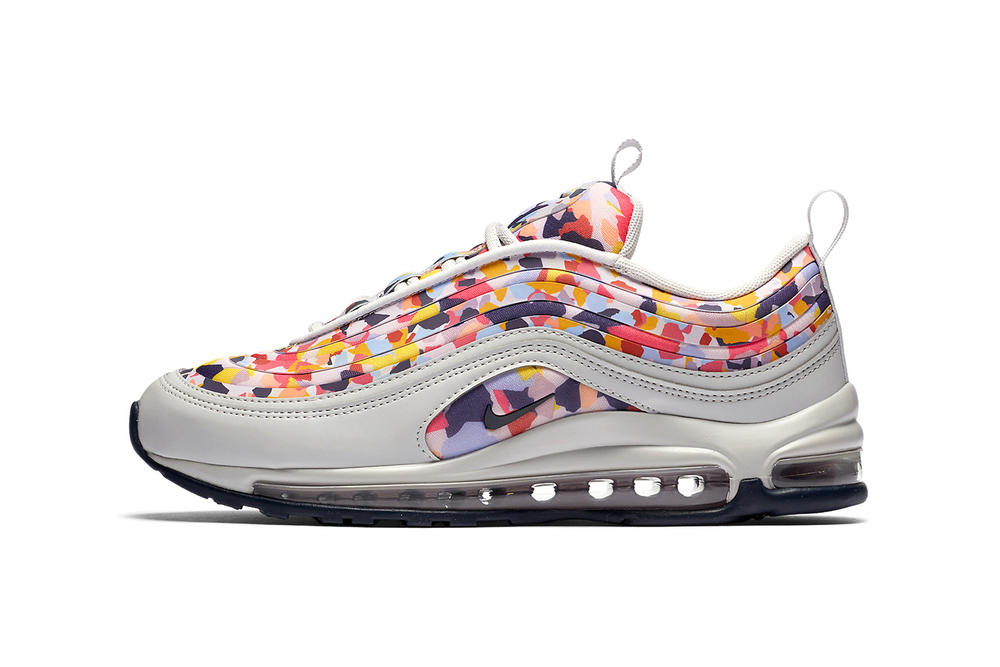 Nike Air Max Confetti Pack 97 Ultra Grey Pink Purple Yellow