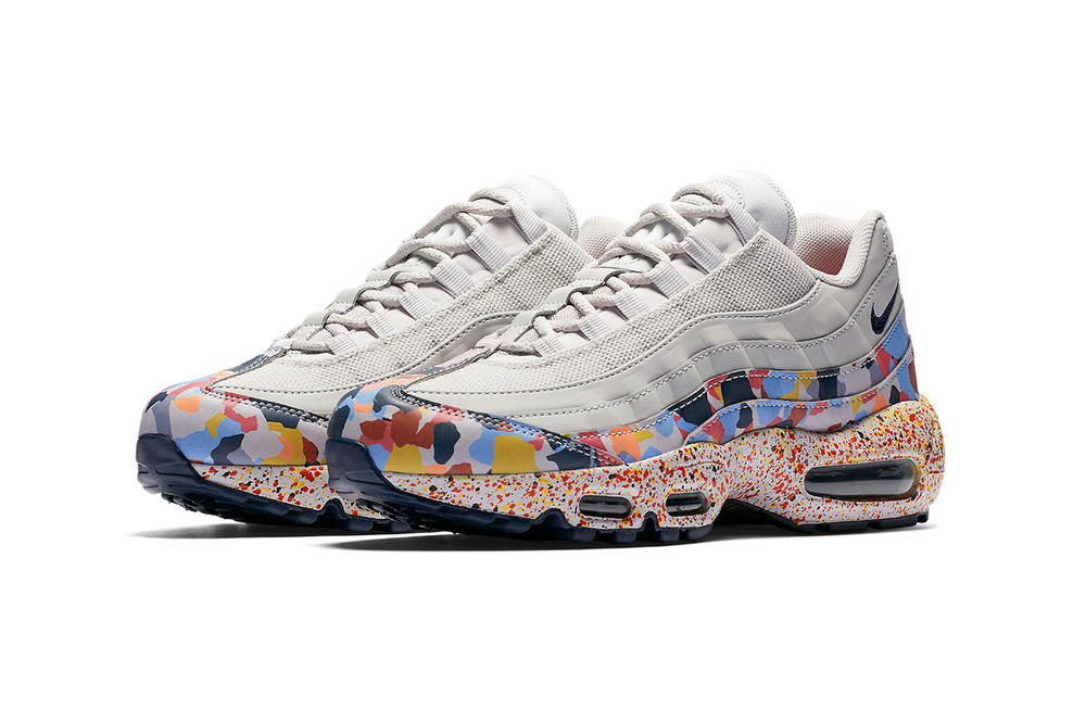 Nike Air Max Confetti Pack 95 Grey Pink Purple Yellow
