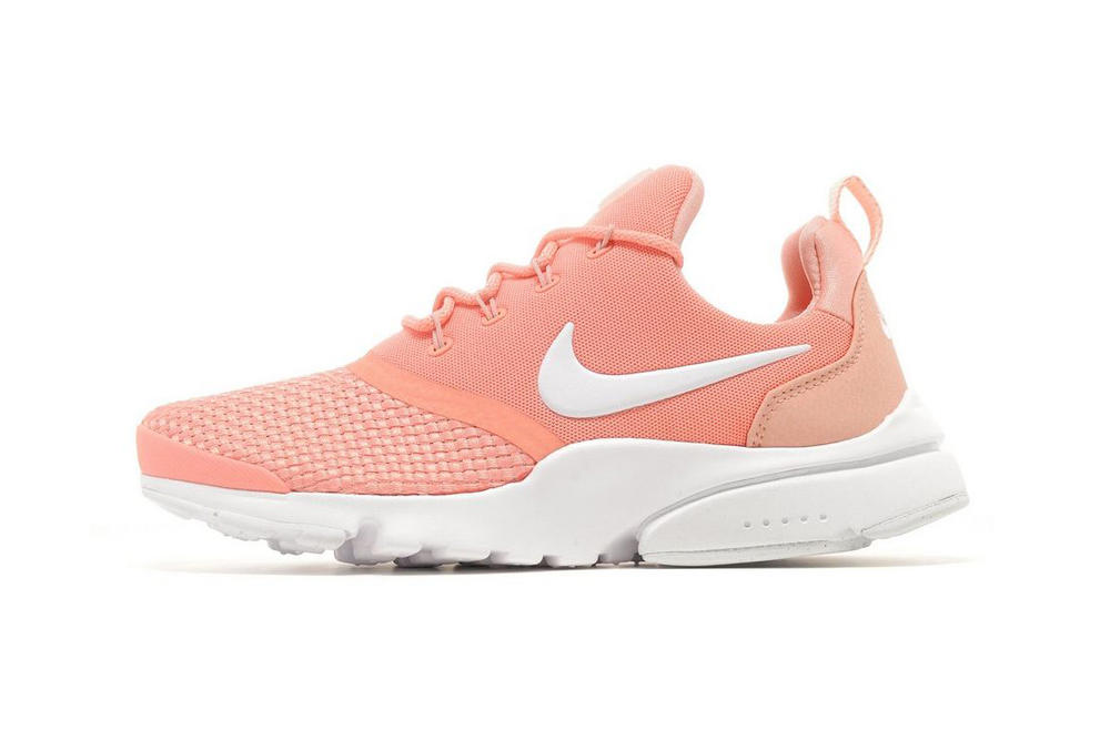 4532e3fb62e2 Nike Air Presto Fly Woven Pastel Peach Orange Sneaker