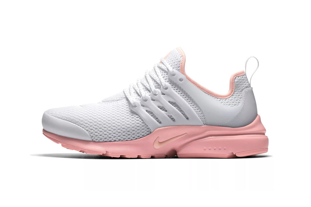 the best attitude db76a e58b4 Nike Air Presto in White and Coral Sunset Tint | HYPEBAE
