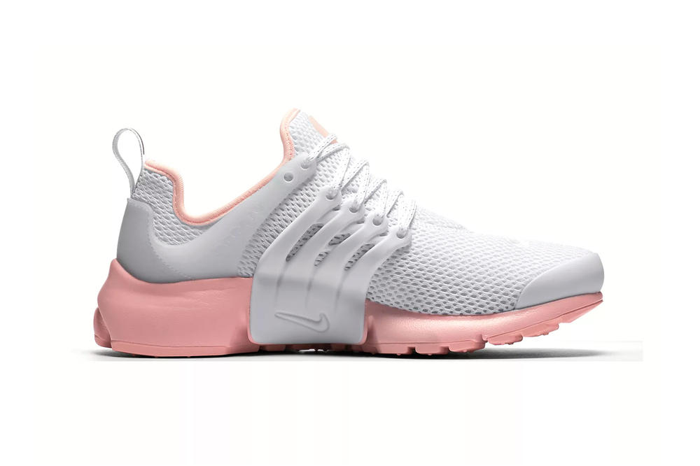 Nike Air Presto White Bleached Coral Sunset Tint