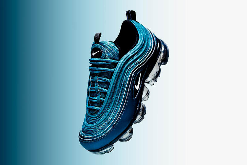 0cace9fee1b Nike Air VaporMax 97 Metallic Dark Sea Blue