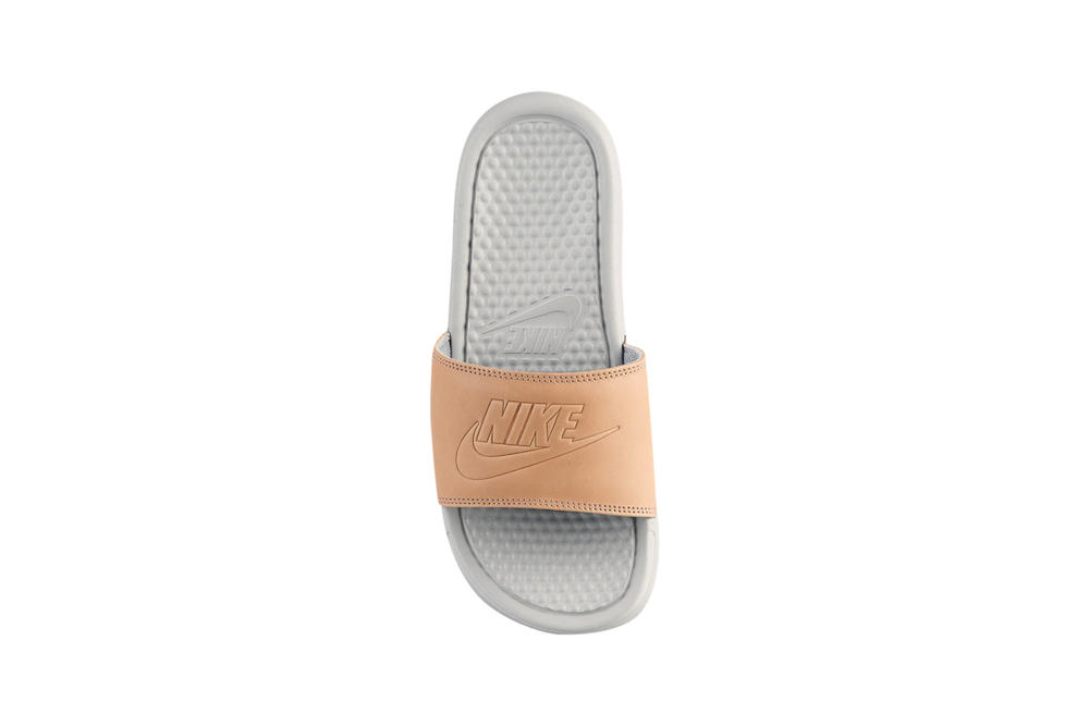 Nike Benassi Slides Vachetta Tan Light Bone