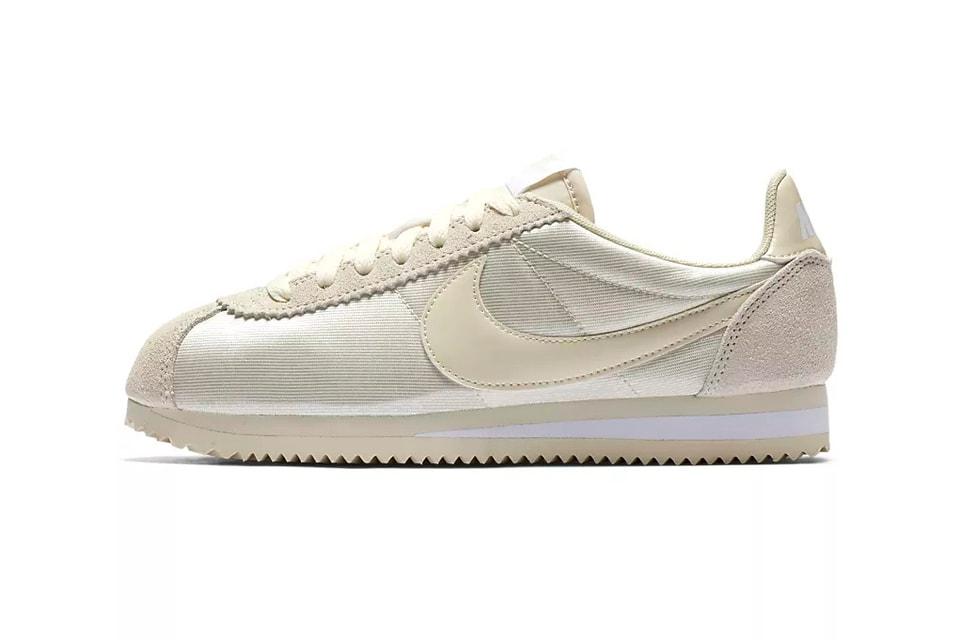 the best attitude aba1b 0071d Nike Releases Classic Cortez Nylon Fossil White   HYPEBAE