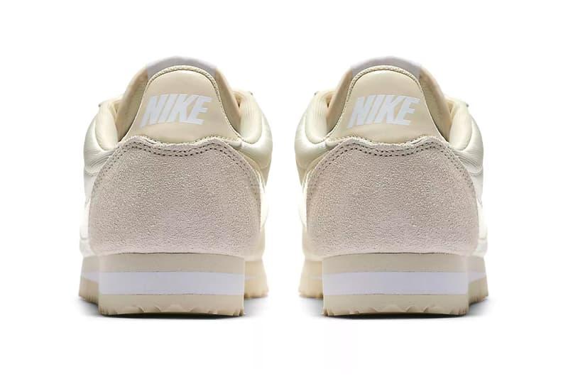Nike Classic Cortez Nylon Fossil White