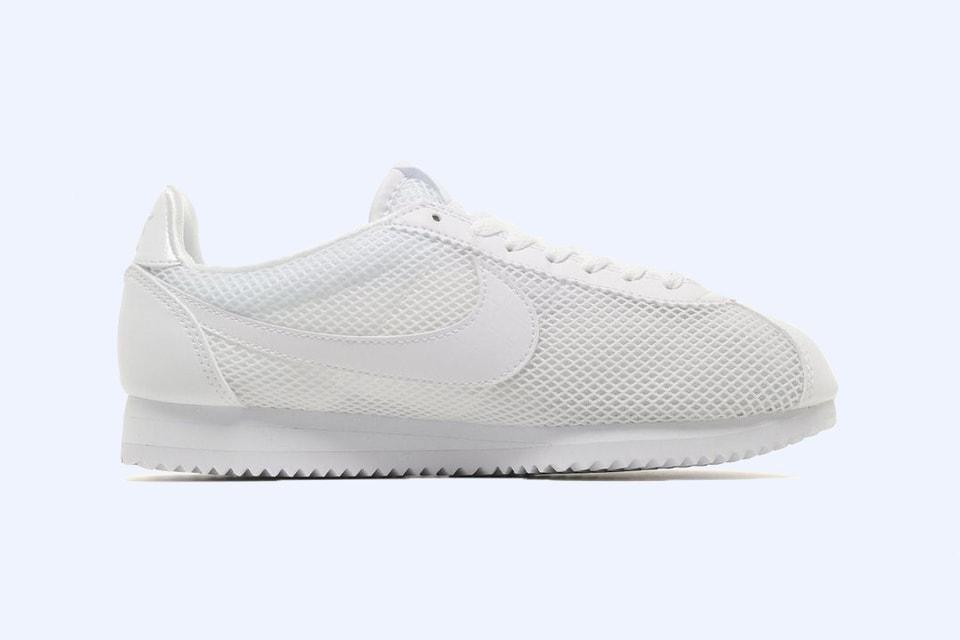timeless design d7097 7c30d Nike Drops a Cortez Sneaker in White Mesh   HYPEBAE