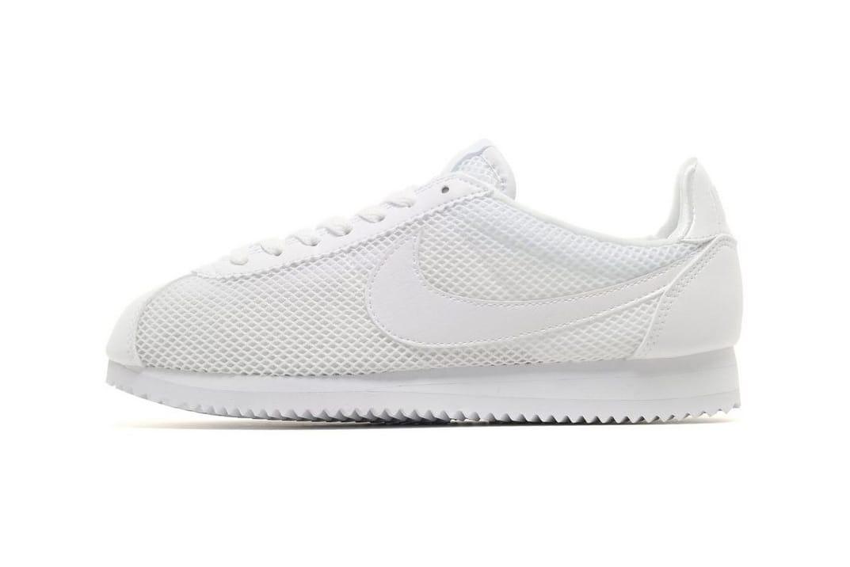 Cortez Sneaker in White Mesh