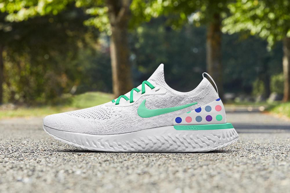 NIke Epic React Flyknit Customizable with NIKEiD Patta Colorway Custom
