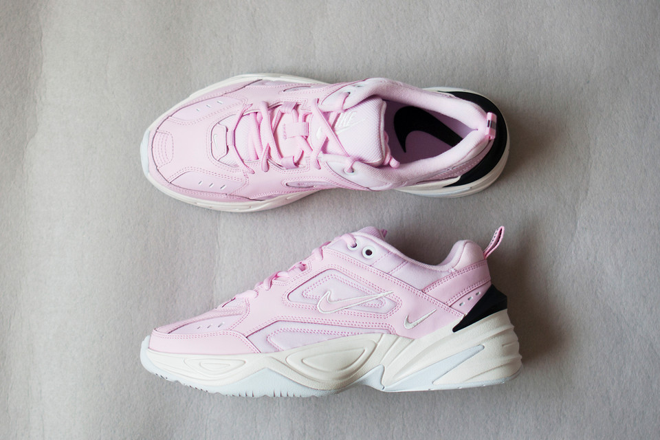 b3969cb72 Watch Our Unboxing of Nike s Pink M2K Tekno
