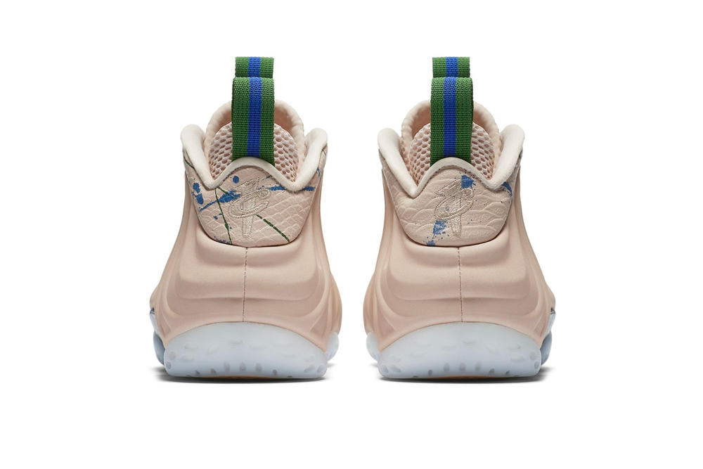 """Nike """"Particle Beige"""" Sneaker Capsule Collection Nike Air Force 1 Air More Money Foamposite Shoes Basketball"""