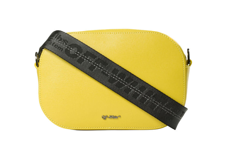 Off-White™ Yellow Black Industrial Strap Camera Bag