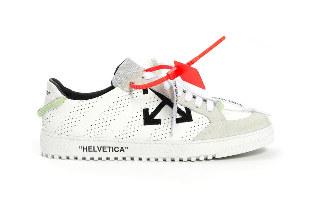 Off-White Fall Winter 2018 2.0 Low-Top Sneakers White