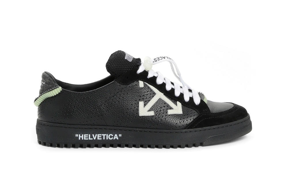 Off-White Fall Winter 2018 2.0 Low-Top Sneakers Black
