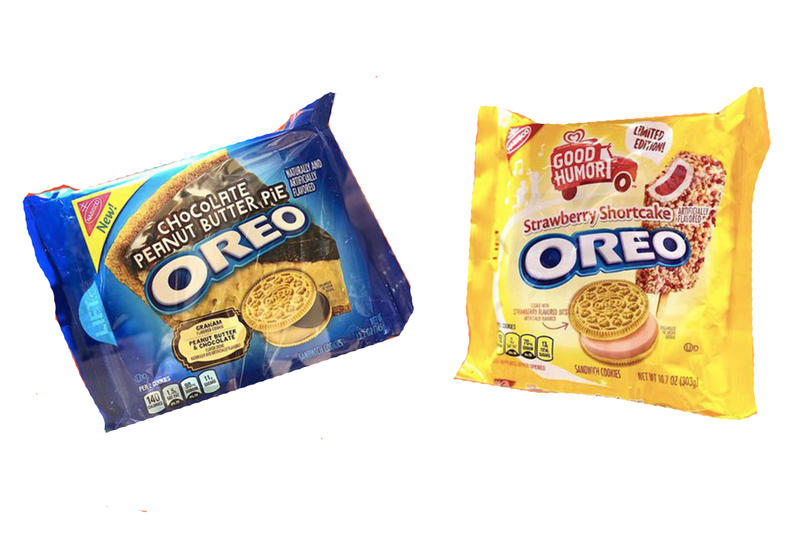 Oreo Announces New Cookie Flavors for 2018  Strawberry Shortcake Peanutbutter Chocolate Cheesecake