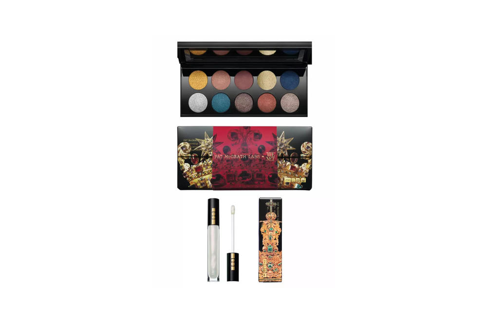 Pat McGrath Labs x The Met Collection Mothership IV: Decadence Eyeshadow Palette LUST Lip Gloss Aliengelic