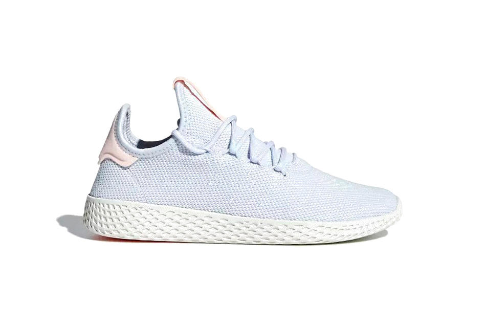 Pharrell Williams Adidas Originals Tennis Hu Icey Pink Aero Blue Talc Pastel Colorways