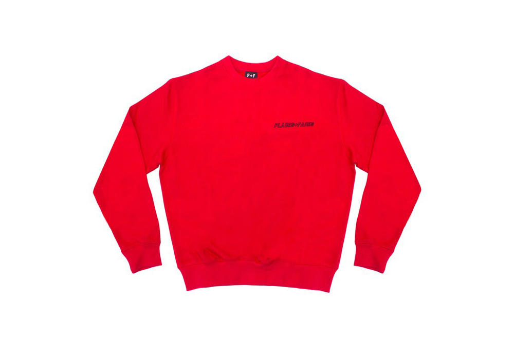 Places+Faces Spring Summer 2018 Sweater Red