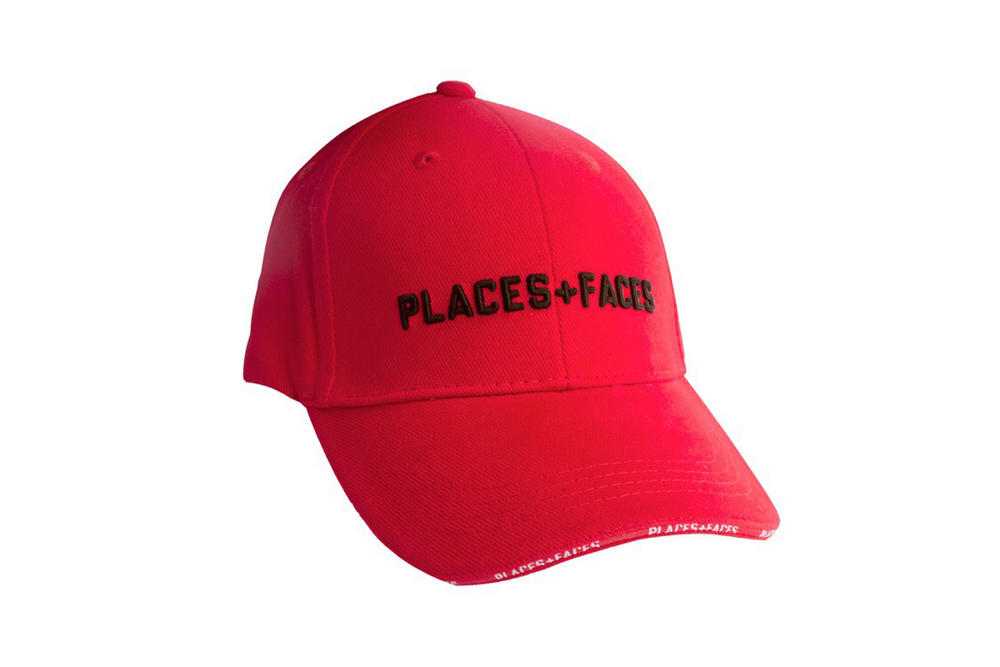 Places+Faces Spring Summer 2018 Hat Red