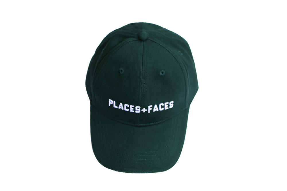 Places+Faces Spring Summer 2018 Hat Green
