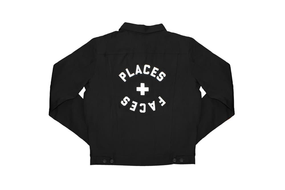 Places+Faces Spring Summer 2018 Jacket Black