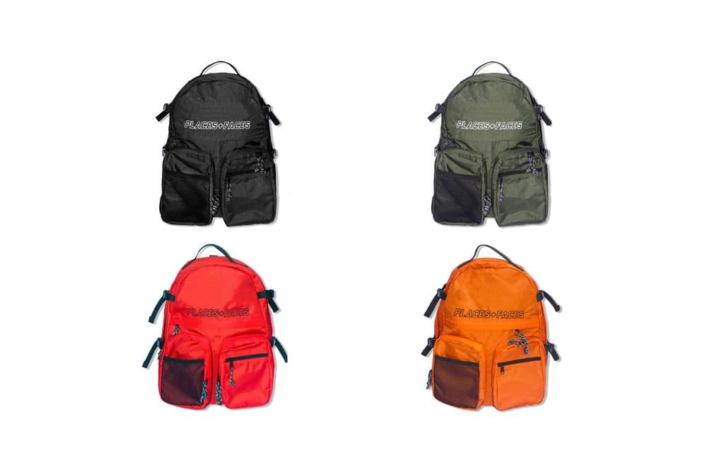 Places+Faces Spring Summer 2018 Backpack Red Orange Black Green