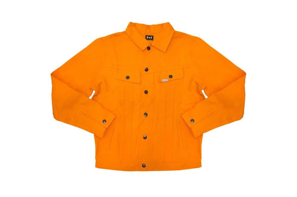 Places+Faces Spring Summer 2018 Jacket Orange