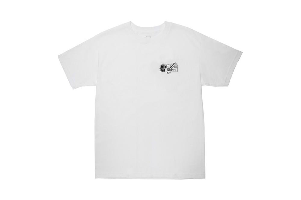 Places+Faces Spring Summer 2018 T Shirt White