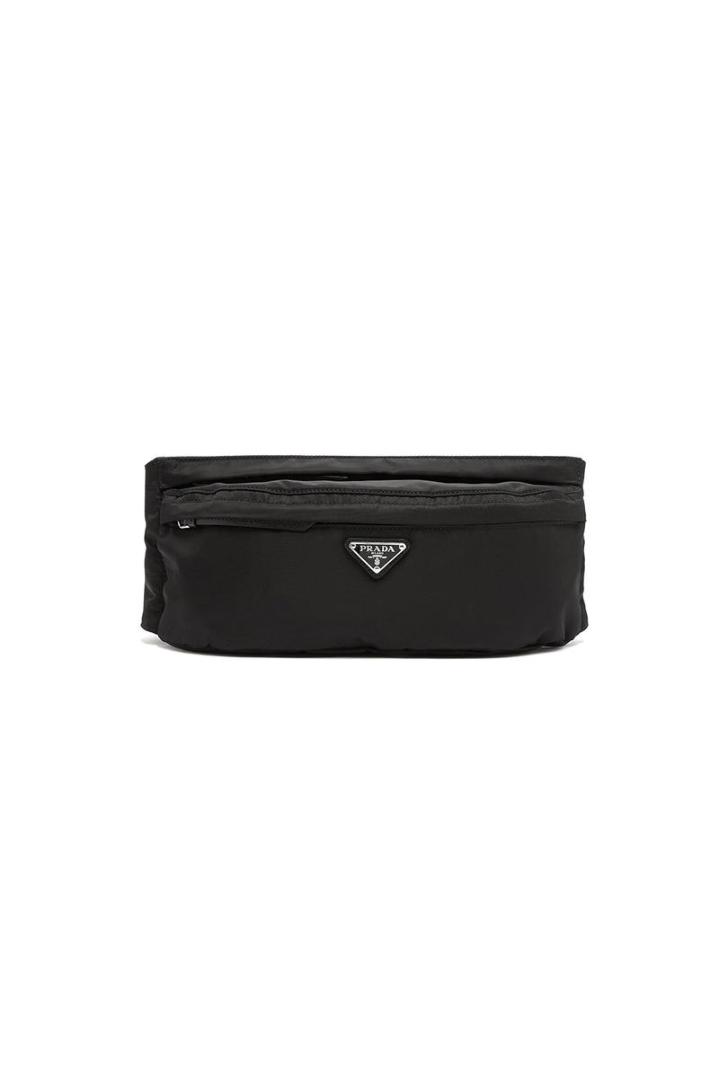 Prada Nylon Belt Bag Black