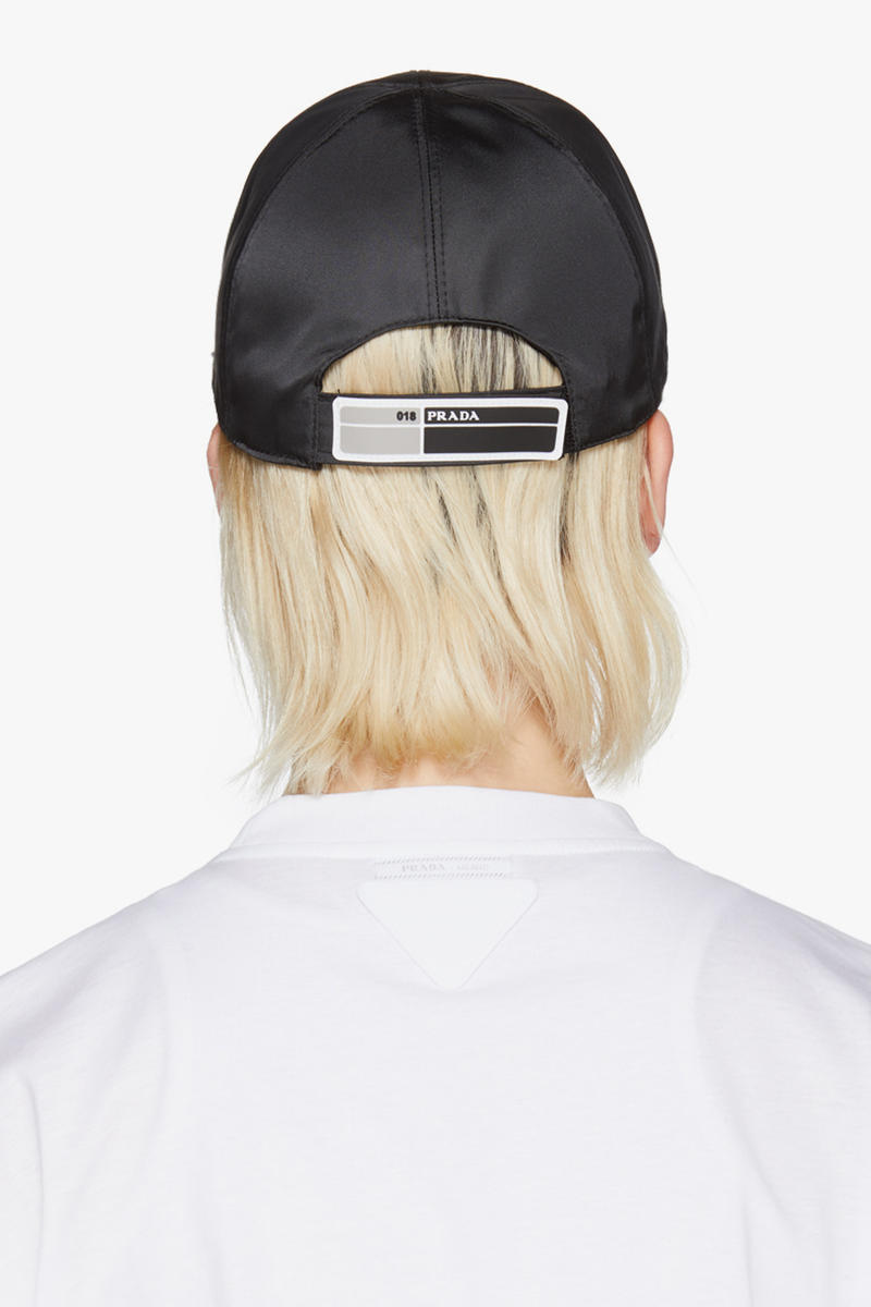 Prada SSENSE Exclusive Capsule Collection T-Shirt Hats Cap Retro