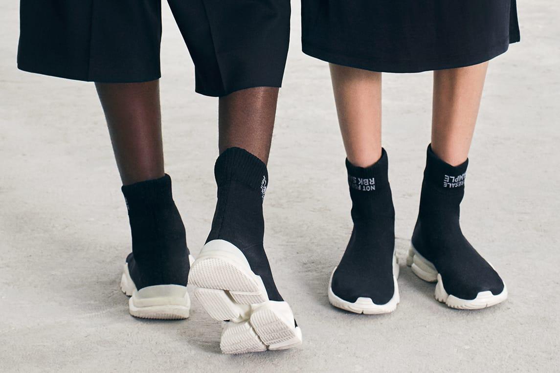 Reebok's Sock Run.R in Black Is