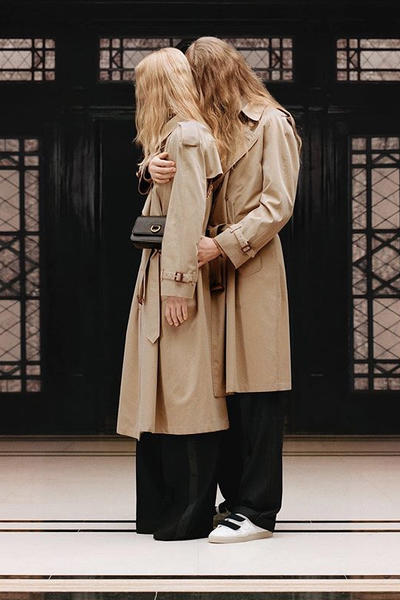 riccardo tisci burberry spring summer 2019 pre collection teaser trench coat classic