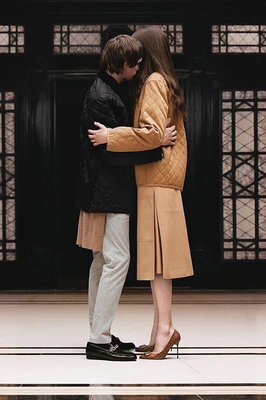 riccardo tisci burberry spring summer 2019 pre collection teaser classic jackets tan black