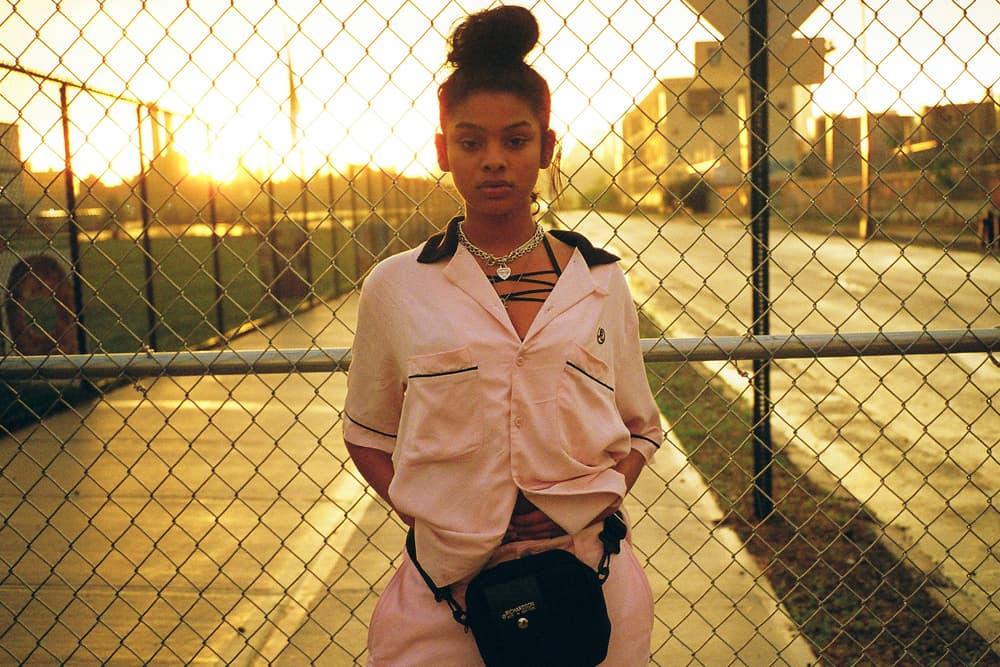 Richardson Spring/Summer 2018 Drop 2 Bowling Shirt Camera Bag Pink Black