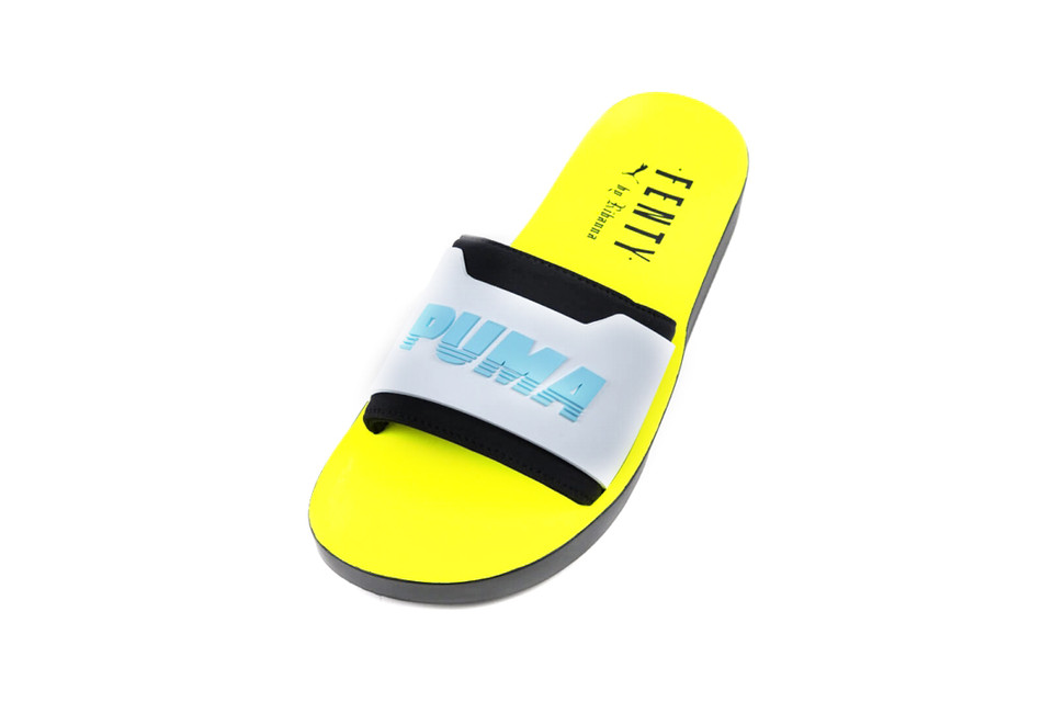 Fenty PUMA by Rihanna Releases Surf Slides  3c8811b97c75