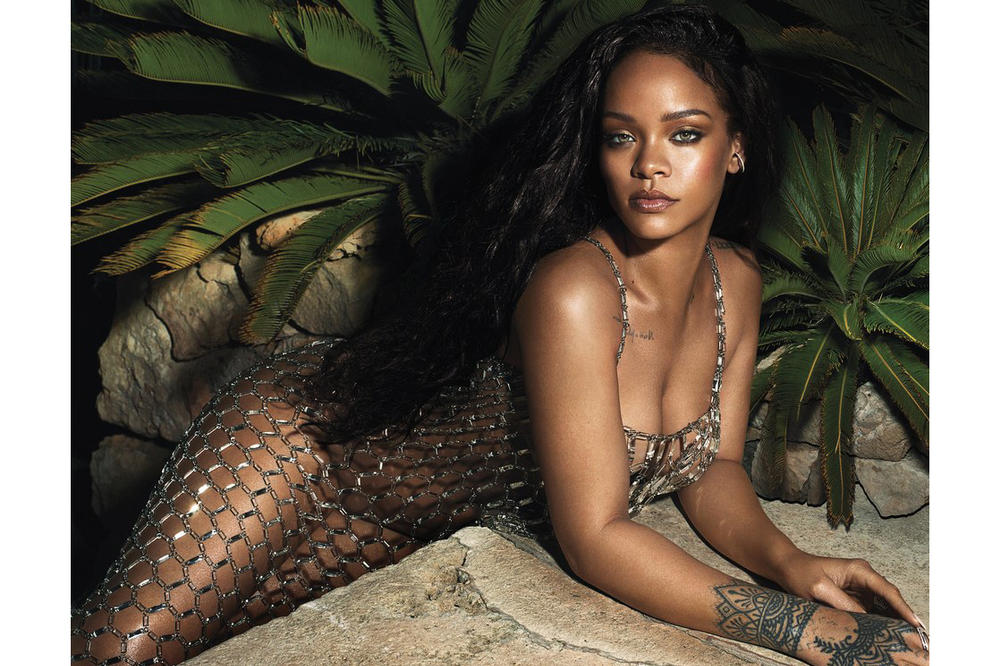 Rihanna Vogue June 2018 Paco Rabanne Dress