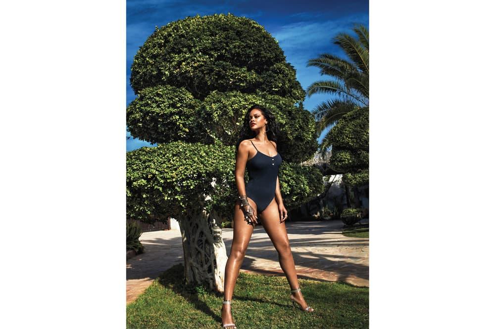Rihanna Vogue June 2018 Chanel Swimsuit