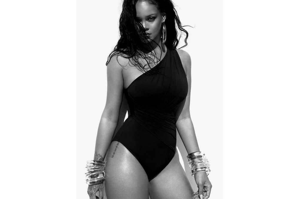 Rihanna Vogue June 2018 Michael Kors Swimsuit