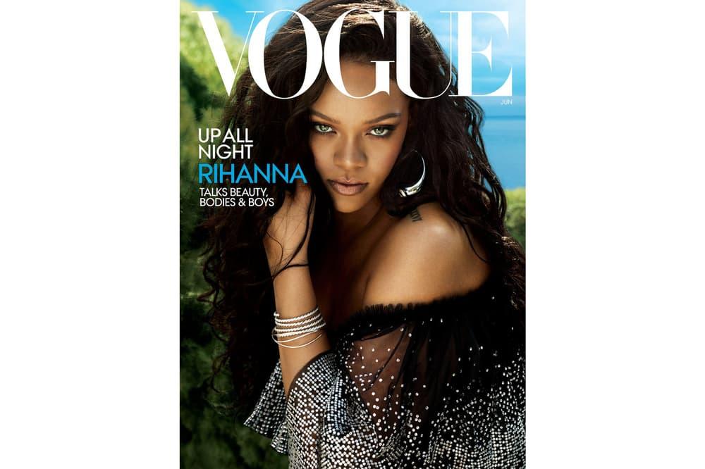 Rihanna Vogue June 2018 Cover Dolce Gabbana Dress