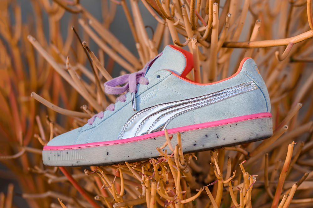 Sophia Webster x PUMA Spring/Summer 2018 Collection Second Drop Classic Suede Blue Pink