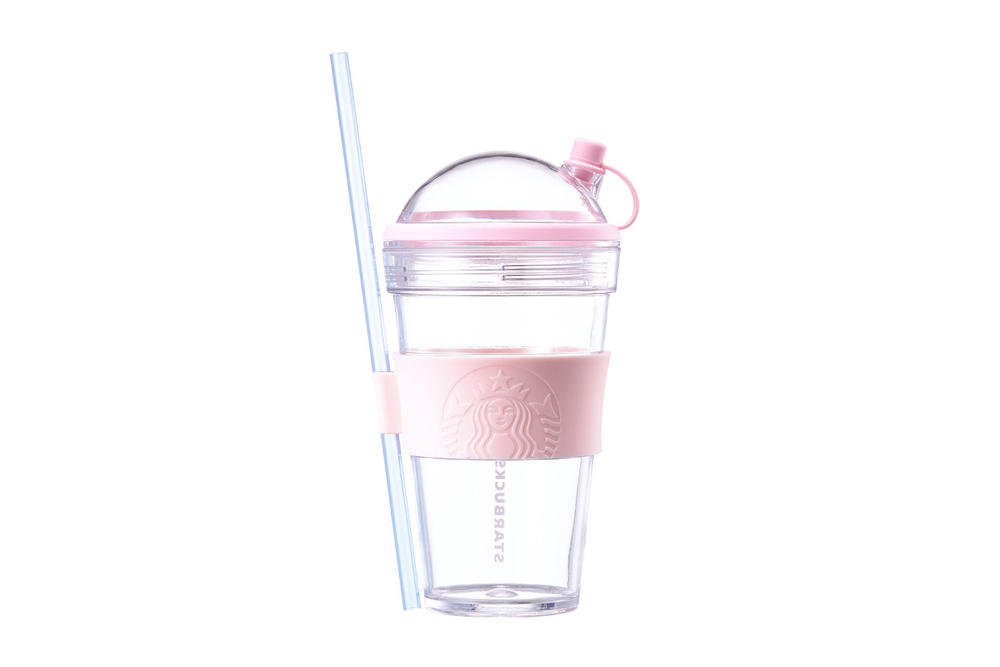 Starbucks Korea Pink Blue Dome Cup