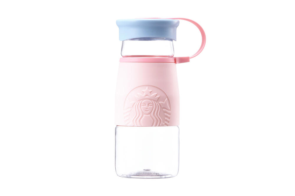 Starbucks Korea Pink Blue Bottle Cup