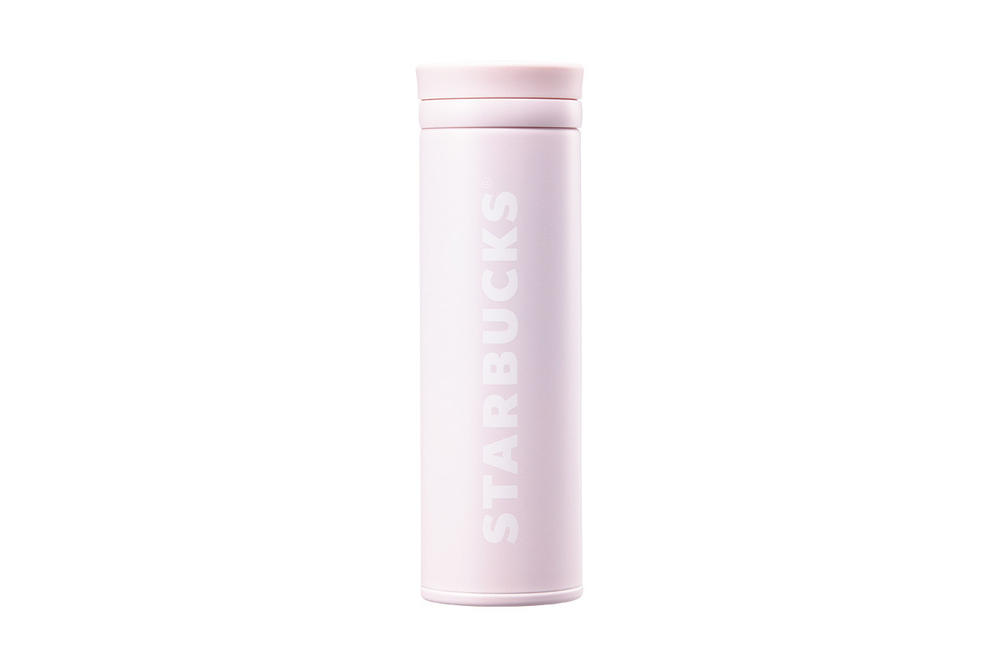 Starbucks Korea Pink Logo Thermos Cup