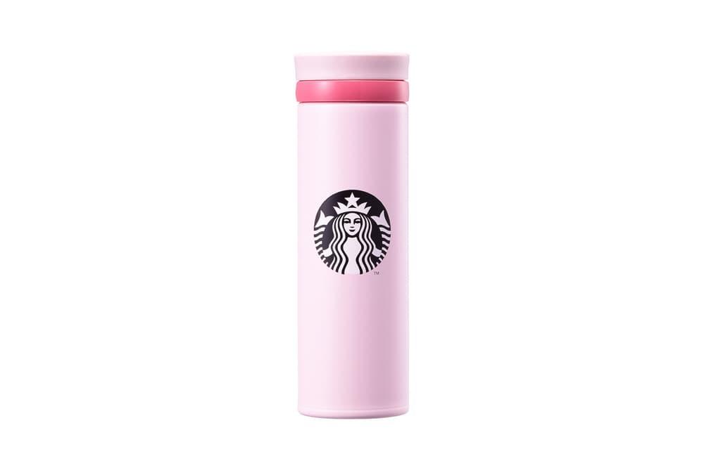 Starbucks Korea Pink Siren Logo Thermos Cup