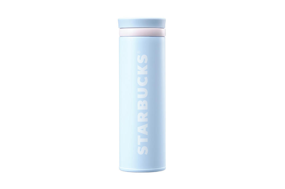 Starbucks Korea Blue Logo Thermos Cup