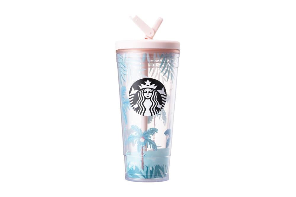 Starbucks Korea Pink Hibiscus Cup Summer 2018