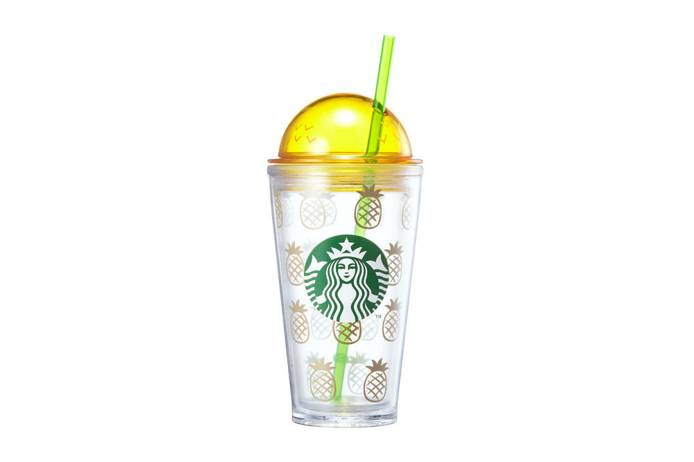 Starbucks Korea Pineapple Dome Cup Summer 2018
