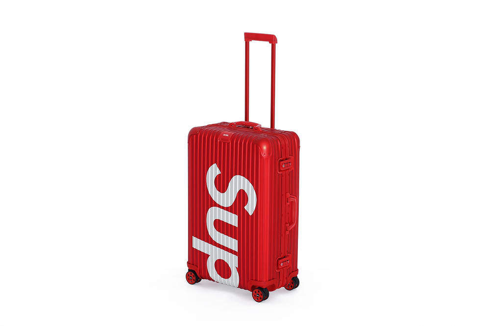 Supreme x RIMOWA Luggage Red Nose Day Elbi Collaboration