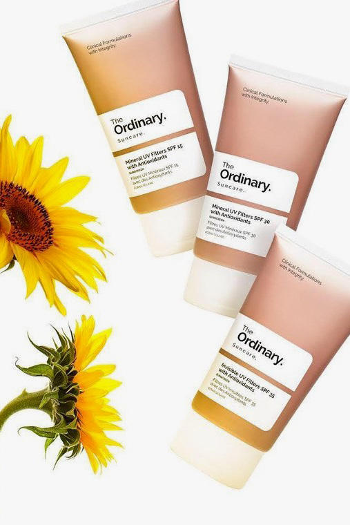 The Ordinary Launches a New Suncare Sunscreen Makeup Beauty Skincare SPF UV Protection Health